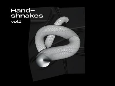 Handshankes - standalone illustration
