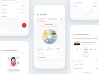 User Dashboard for App