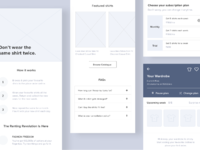 Wireframes dribbble attachment