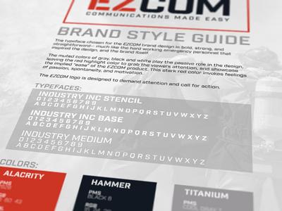 EZCOM Brand Style Guide