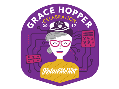 Grace Hopper Conference Sticker
