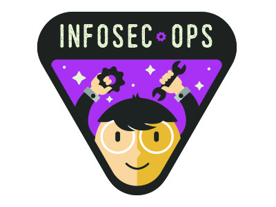 Security Fix badge - team INFOSEC - OPS