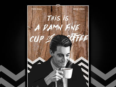 Twin Peaks Poster for Coffee Shop
