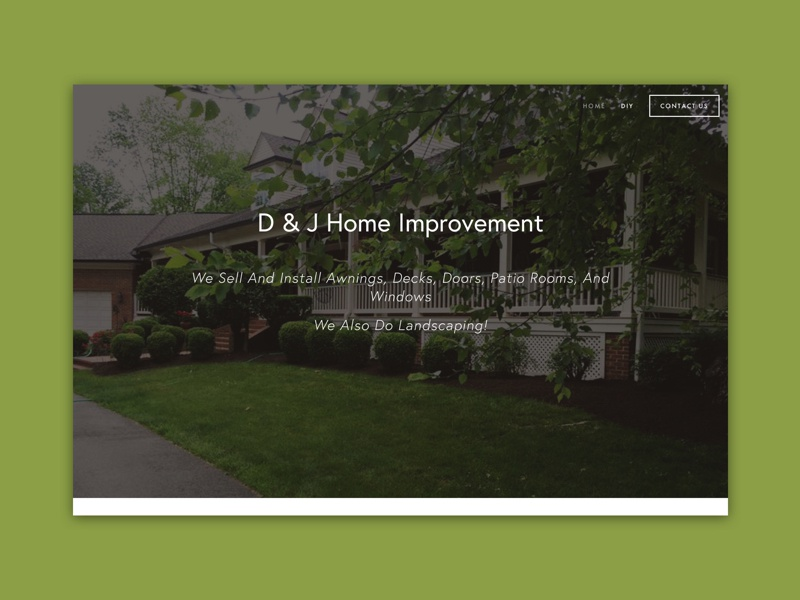 D J Home Improvement