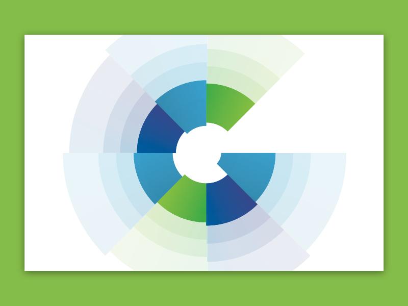 Guidant LLC. flat design graphic design logo design