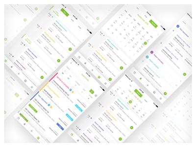 Scheduling App Design