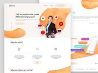 Translation Company Webdesign