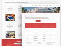 School Websites - Admissions