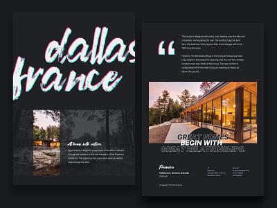 Poster-v1 landing vector art postcard typography elegant bold style new dark black faship agency webdesignagency architecture webdesign layout graphic poster