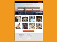 Craigslist Redesign Homepage