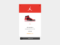 Product Detail for Mobile E-Commerce