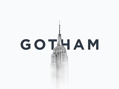 Gotham unsplash lettering font typography type typeface sans serif brand gotham vouchful