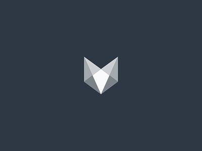Updated Vouchful Logomark vouchful branding design branding identity design identity logomark logo fox brand abstract