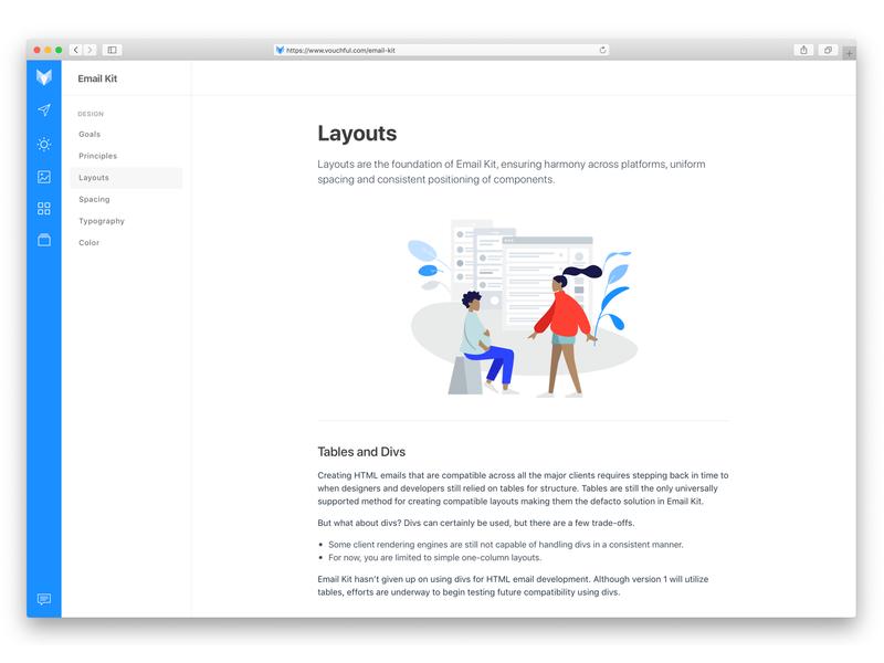 Vouchful Documentation vouchful design system guide tutorial documentation docs