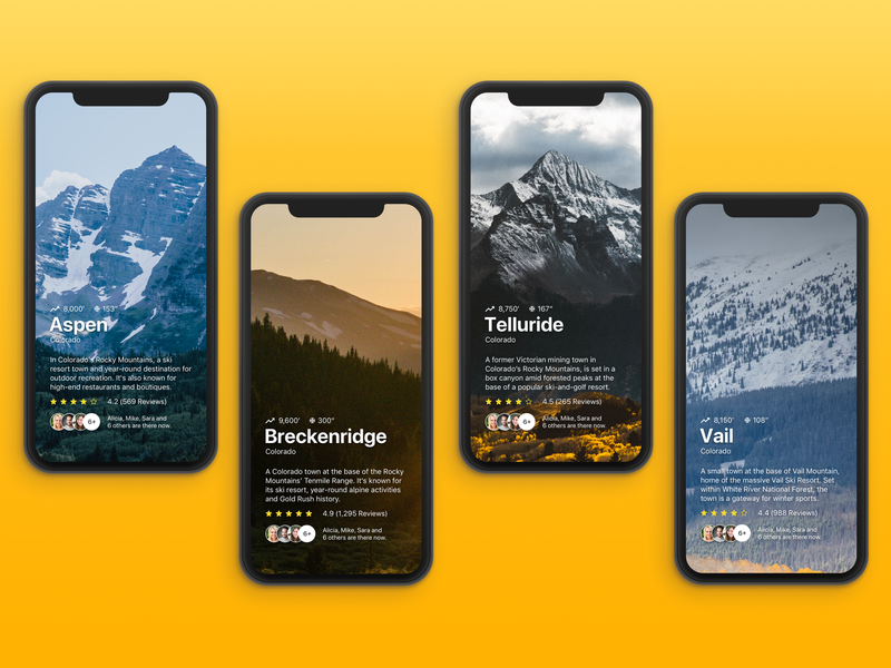 Mobile Travel App Concepts by Paul Sylling on Dribbble