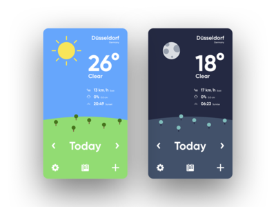Daily UI No. 37 | Weather #DailyUI #037 #Freebies