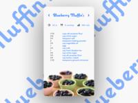Daily UI No. 40 | Recipe #DailyUI #040