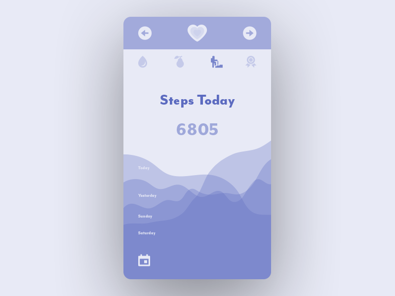 Daily UI No. 41 | Workout Tracker #DailyUI #041 daily ui tracker workout 041 dailyui