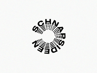 Schnapsideen icon typography branding vector ui logo minimal abstract typo colors illustration hamburg germany flat deepblue animation after effects design