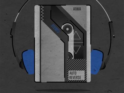 AIWA Walkman — Back to the Future