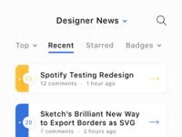 4. designer news