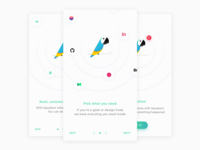 🐦 Squakers — onboarding