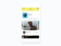 ⚡️ Music App – UI Challenge