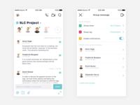 ⚡️ Direct messages – UI Challenge