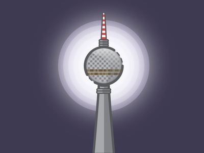 Holograma Studio Berlin TV Tower