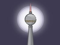 Holograma Studio Berlin TV Tower