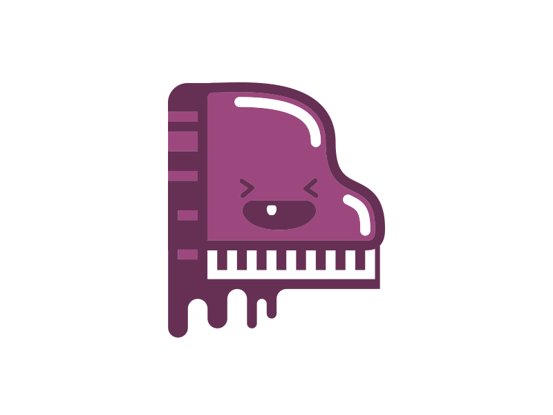 PianoPiano klavier vector character piano