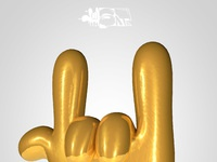 Goldy hands