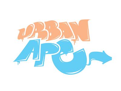 Urban Ape Graf-o-Type yo digital type graffiti