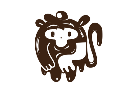 Urban Ape Monkey vector urban ape monkey