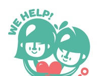 We help logo fb