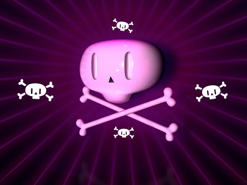 SAT Calaca stickathing cute skull 3d renderer arnold c4d