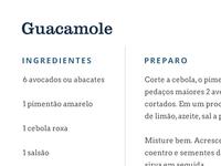 Passagem Gastronômica | Fonts