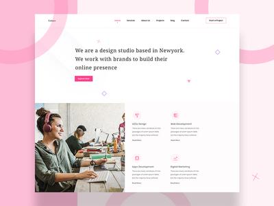 Lotuss Agency Web Template (WIP)