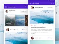 Blog App Design