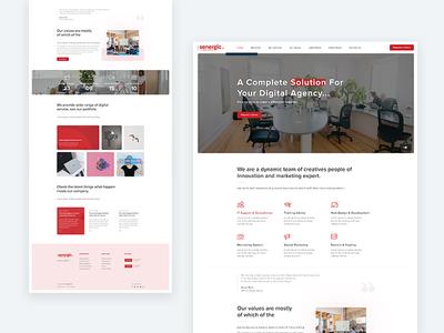 Senergic Agency Website
