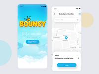 Bouncy App Design