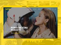 Auto Magazine - Concept Redesign