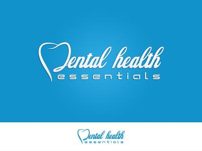 Dental Health Essentials yunus ünsal dentist dental design branding brand logotype logodesigner logo logodesign