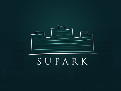 Supark  yunus ünsal build design branding brand logotype logodesigner logo logodesign
