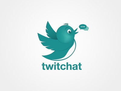 Twitchat  yunus ünsal build design branding brand logotype logodesigner logo logodesign app icon application