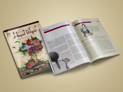 Magazine Cover Design / Page Layout cover design page layout magazine design print literary