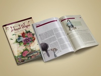 Magazine Cover Design / Page Layout