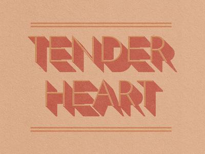 Tender Heart Dribbble
