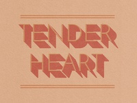 Tender Heart Dribbble