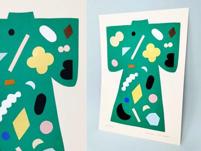 Kimono Papercut